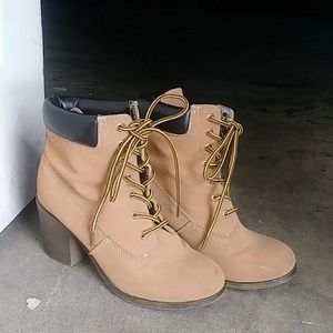 Timbland style booties!